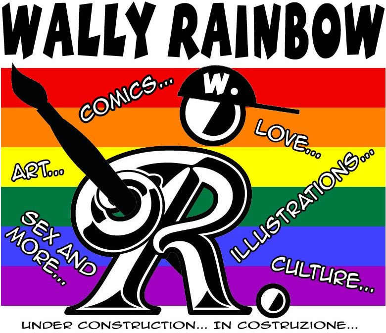 Wally Rainbow - Valriano Elfodiluce - Comics, Love, Illustrations, Culture, Art, Sex and More